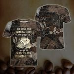 Coffee Tshirt You Don't Stop Drinking Coffee When You Get Old