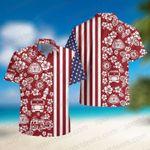 Trucker Flower Tropical American Hawaii Shirts