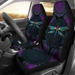 Dragonfly Mandala Car Seat Covers