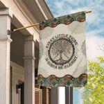 Hippie Life Mandala House Flag Every Little Thing Is Gonna Be Alright
