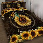 Hippie Sunflowers Quilt Set