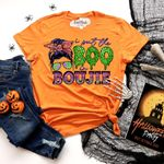 I Put The Boo In Boujie Halloween Tshirt PAN2TS0012