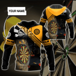 Personalized Darting Sports 3D Hoodie