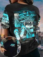 Turtle Sea Beach Tropical 3D T-shirt