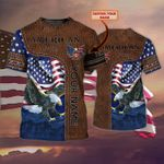 Personalized American Eagle 3D Tshirt