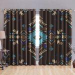 Native Pattern Window Curtain
