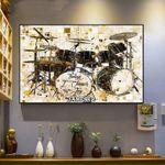 Jesus Christian Drummer Canvas Wall Art Today I Choose Joy