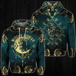 Witchy Woman Moon 3D Hoodie