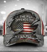 American Veteran Cap If The Flag Offends You Kiss My Vetass