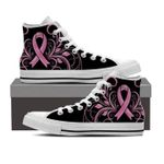 Breast Cancer Awareness High Top Shoes