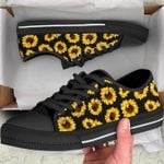 Sunflower Black Low Top Shoes
