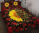 Sunflower Rose Quilt Set In A World Full Of Roses Be A Sunflower
