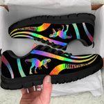 Allysaurus Dinosaur Rainbow Sneakers