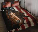 Horse American Quilt Set