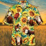 Funny Cow Sunflowr Hawaii Shirts