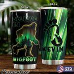 Personalized Bigfoot Tumbler Believe In Bigfoot