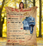 Gift For Husband From Wife Old Couple Blanket I Didn't Marry You