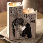 Gift For Girlfriend From Boyfriend Couple Hug Candle Holder The Day I Met