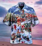 Christmas Gift Santa Hawaii Shirt