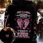 Nurse Eagle 3D Hoodie Once A Nurse Always A Nurse No Matter Where You Go
