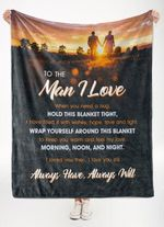 Gift For Lover Blanket When You Need A Hug Hold This Blanket Tight