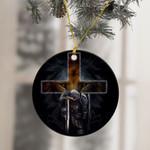 Jesus Viking Warrior Ornament