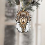 Native Americans Wolf Lover Ornament