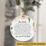 Personalized Gift For Husband Mother In Law Ornament