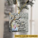 Personalized Memorial Gift For Loss Of Wife Ornament