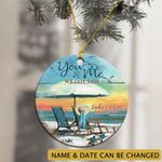 Personalized You And Me We Got This Summer Beach Ornament