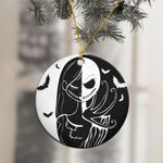 Jack And Sally The Nightmare Before Christmas Ornament
