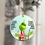 2021 Christmas The Grinch Ornament