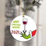 Merry Christmas Grinches 2021 Ornament
