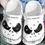 Jack Skellington Halloween Crocs Classic Clogs Shoes PANCR0108