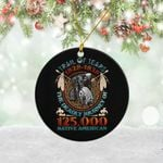Personalized Native American Christmas Ornament