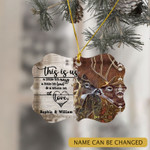 Personalized Deer Hunting Couple Christmas Ornament This Is Us