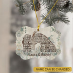 Personalized Horse Lover Girl Ornament You Are My Sanity