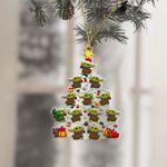 Baby Yoda Lover Christmas Ornament
