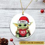 Personazil Baby Yoda Christmas 2021 Ornament