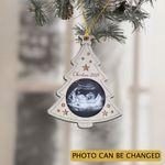 Personalized Baby Sonogram Christmas 2021 Tree Decoration