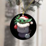 Baby Yoda 2021 Christmas Ornament