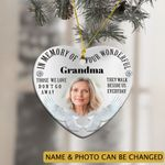Personalized Memorial Ornament In Memory Of Your Wonderful