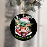 Baby Yoda Christmas Gift Ornament