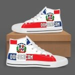 Domanican Printed On High Top Shoes