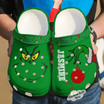 Personalized Grinch Christmas Crocs Classic Clogs Shoes