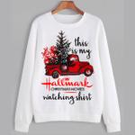 This Is My Hallmark Christmas Movies Watching Shirt Sweater