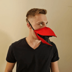 Duck Talking Face Cover