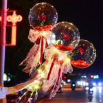 ❤️ Led Luminous Balloon Rose Bouquet ❤️