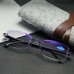 Anti-Blue Progressive Far And Near Dual-Use Reading Glasses