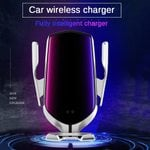 🔥 Auto-Clamping Car Phone Charger